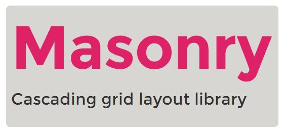 Masonry - Cascading grid layout library