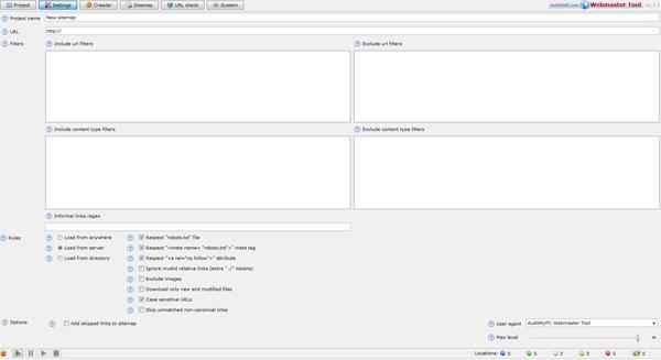 XML Sitemap Tool