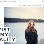 Beispiel eines Blog-Designs von Wix